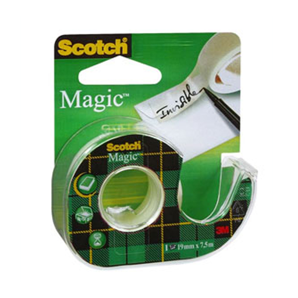 Диспенсер для клейкой ленты 3М Scotch Magic, невидимая (19 мм)