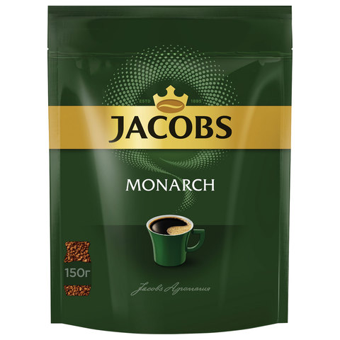 Кофе растворимый Jacobs Monarch 150 г