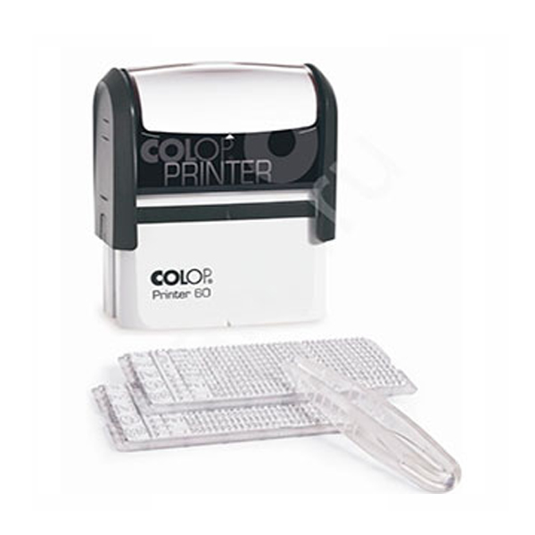 Штамп Colop Printer 60-Set самонаборный (9-строчный)