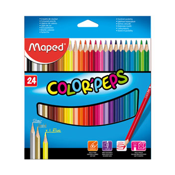 Карандаши цветные Maped ColorPeps