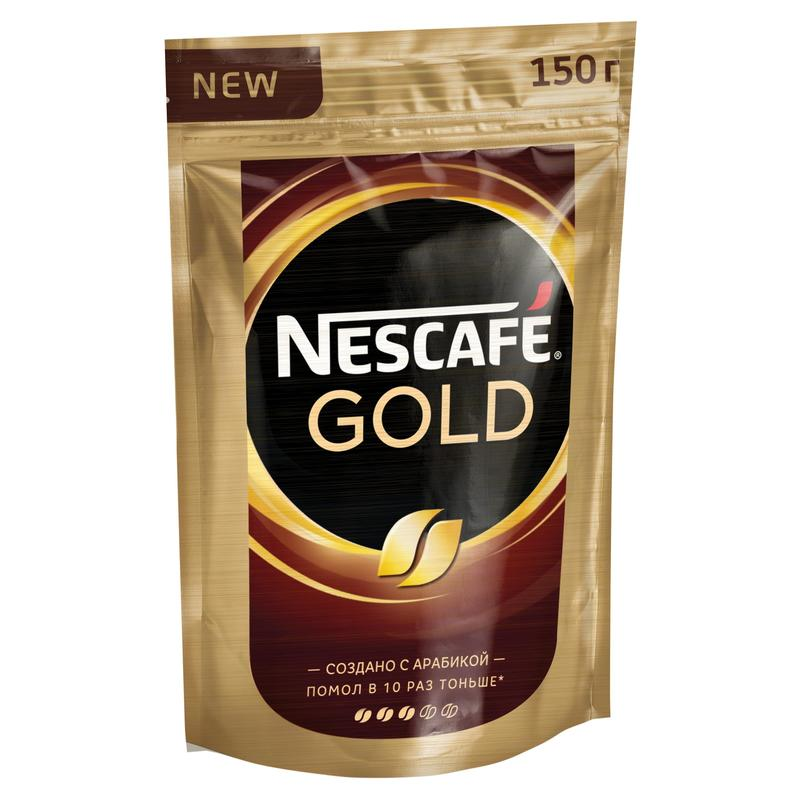 Кофе растворимый Nescafe Gold 190 г